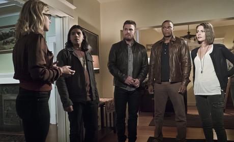 Making Plans - Arrow Season 4 Episode 8