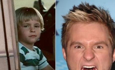 Blake Lewis as a Baby