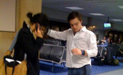 Spotted Smooching: Ed Westwick and Jessica Szohr?