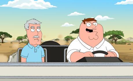Heading to Africa - Family Guy