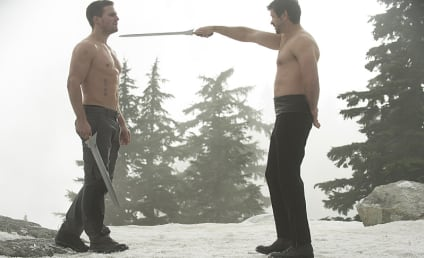 "Arrow Stars Tease ""Scary"" Midseason Finale, Shirtless Fight Scenes... and a Baby?"