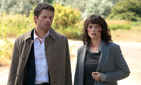 Cas and Hannah - Supernatural Season 10 Episode 3