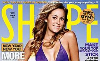 Lauren Conrad on Cover of Shape Magazine