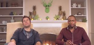 James Roday and Dule Hill Thanks Psych Fans