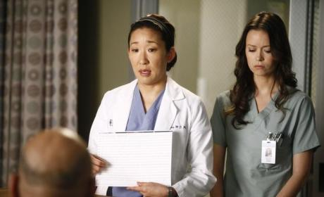 Summer Glau on Grey's Anatomy
