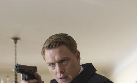 Ressler has Gun Drawn