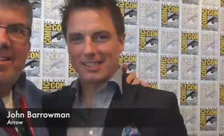 John Barrowman Teases Arrow Season 3, TV Fanatic Cameraman; Requires Co-Stars to Undress