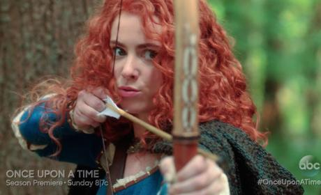 Once Upon a Time Season Premiere Clip: Meeting Merida