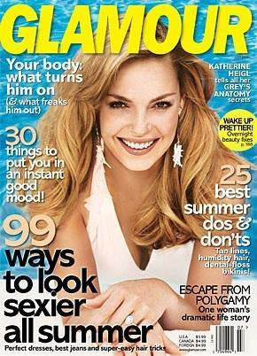 Katherine Heigl: Glamour Cover