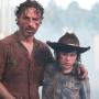 Rick and Carl Scene