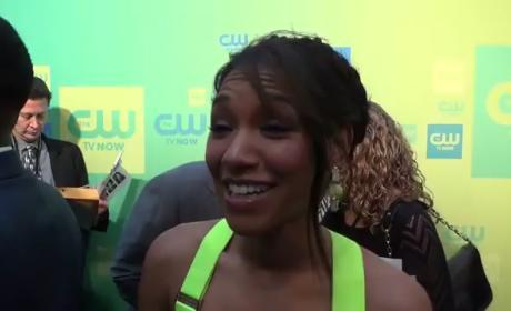 Candice Patton Talks The Flash