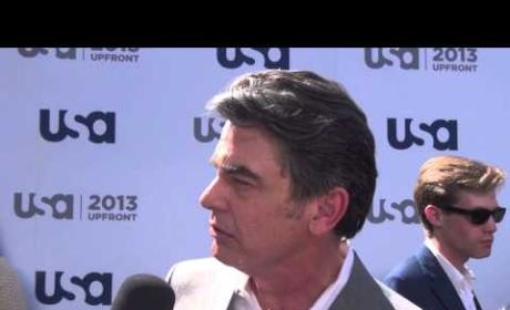 Peter Gallagher Tals Arthur, Covert Affairs Season 4