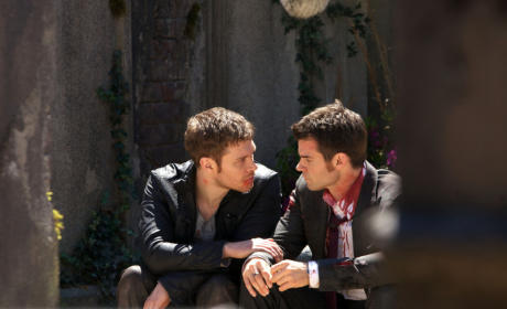 The Originals Season Finale Photos: Blood... And a Baby?