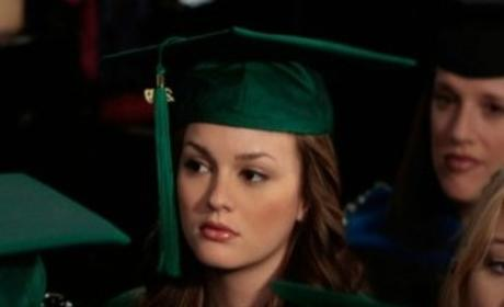 Blair Waldorf Graduates!