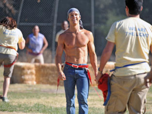 Shirtless Jason Stackhouse