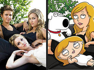 Lauren Conrad on Family Guy