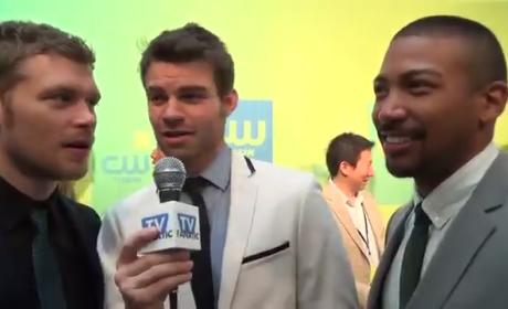 Charles Michael Davis, Daniel Gillies and Joseph Morgan Interview