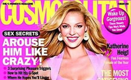 Katherine Heigl in February Issue of Cosmopolitan
