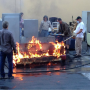 "Behind the Scenes ""Under Fire"" - Castle Season 6 Episode 11"