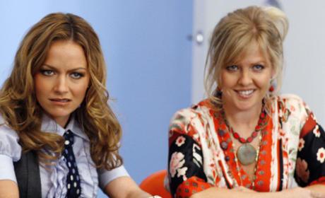 Christina and Amanda