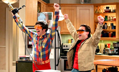 Yay for The Big Bang Theory!