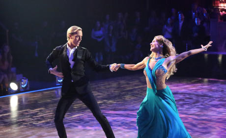 Riker and Allison: Foxtrot - Dancing With the Stars Season 20 Episode 2