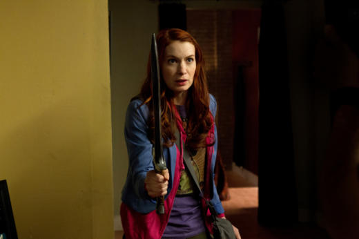 Felicia Day as The Girl with the Dungeons and Dragons Tattoo