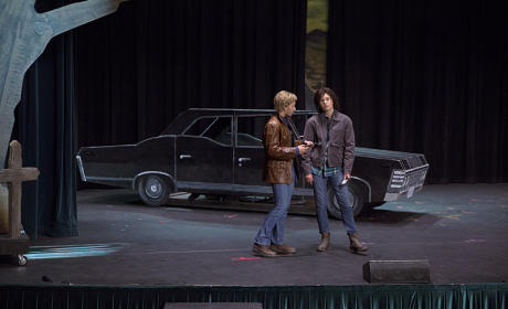 Fictional Sam and Dean - Supernatural Season 10 Episode 5