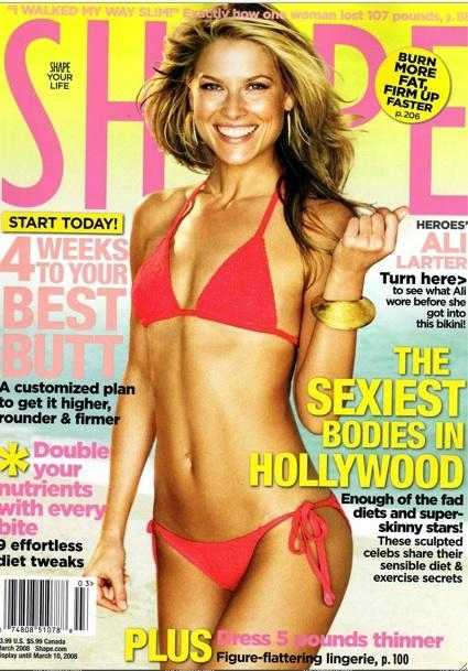 Shape Cover Girl