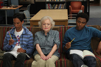 Betty White on Community