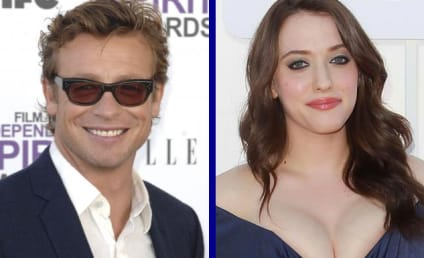 Tournament of TV Fanatic: Simon Baker vs. Kat Dennings!