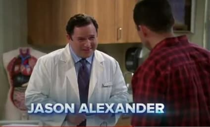 Jason Alexander on Two and a Half Men: First Look!