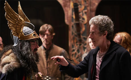 The Doctor Humiliates Odin - Doctor Who Season 9 Episode 5