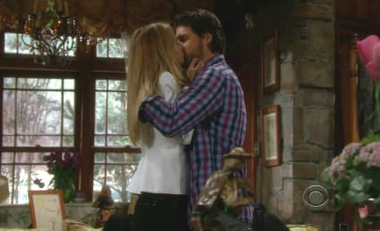 The Young and the Restless Recap: Sharon and Nick Kiss!