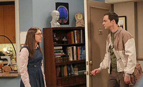 Sheldon Visit Amy's Place