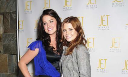 Ashley Newbrough Hosts JET Nightclub Party