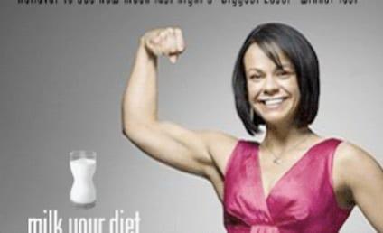 Ali Vincent Featured in Milk Campaign