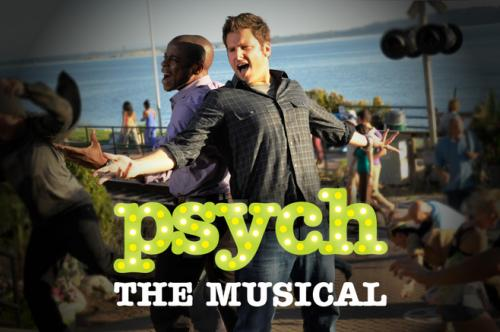 Psych the Musical Poster