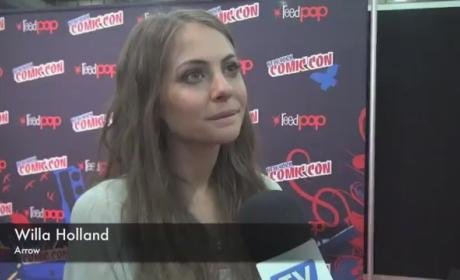 Willa Holland Comic-Con Interview