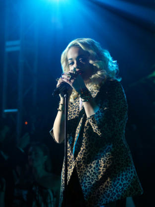 Rita Ora on Stage