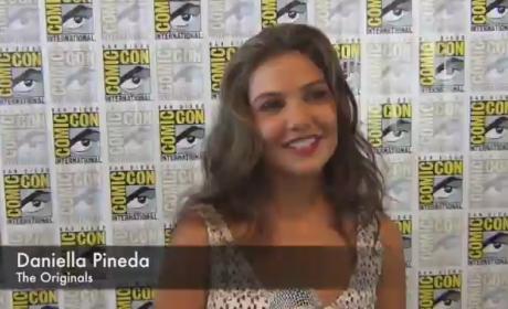 Danielle Campbell Comic-Con Interview