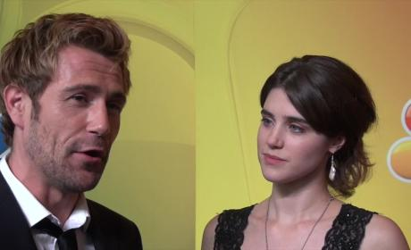 Matt Ryan and Lucy Griffiths Interview