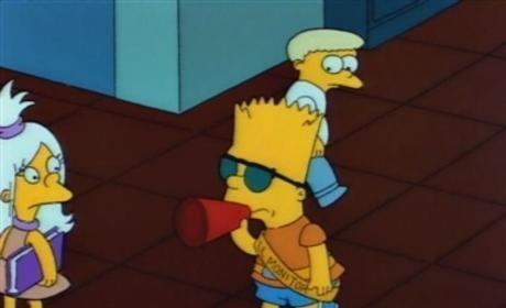 Bart the Hall Monitor