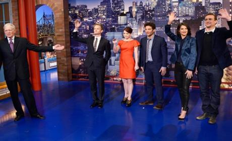 How I Met Your Mother Cast Delivers Late Show Top 10