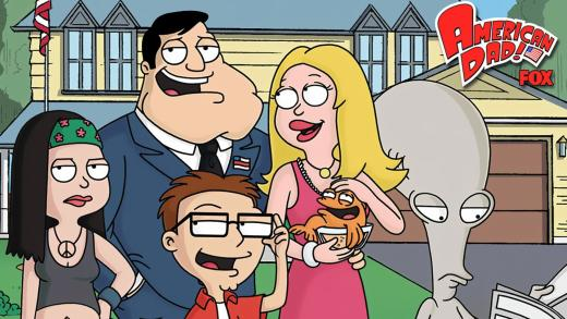 American Dad Cast Pic