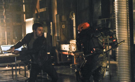 The Man Under The Hood Takes on Deathstroke