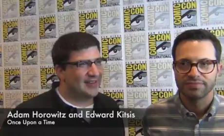 Adam Horowitz and Edward Kitsis Comic-Con Interview