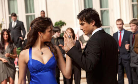 The Vampire Diaries Teases Damon-Elena Romance