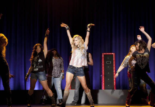Brittany on Stage