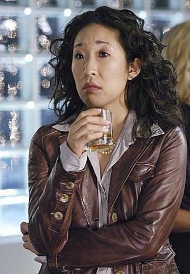 Cristina Looks On